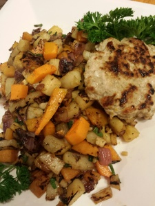Fall Harvest Hash and Sausage