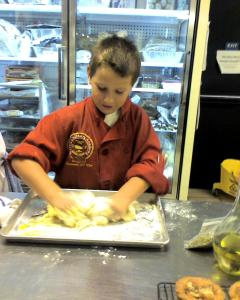 Making Pasta at Culinary School