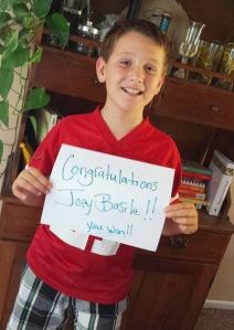 Congratulations Joey Basile!