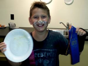 Pie Eating Champ